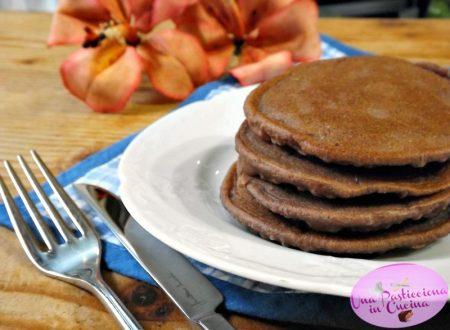 Pancake al Cacao senza Glutine e Lattosio