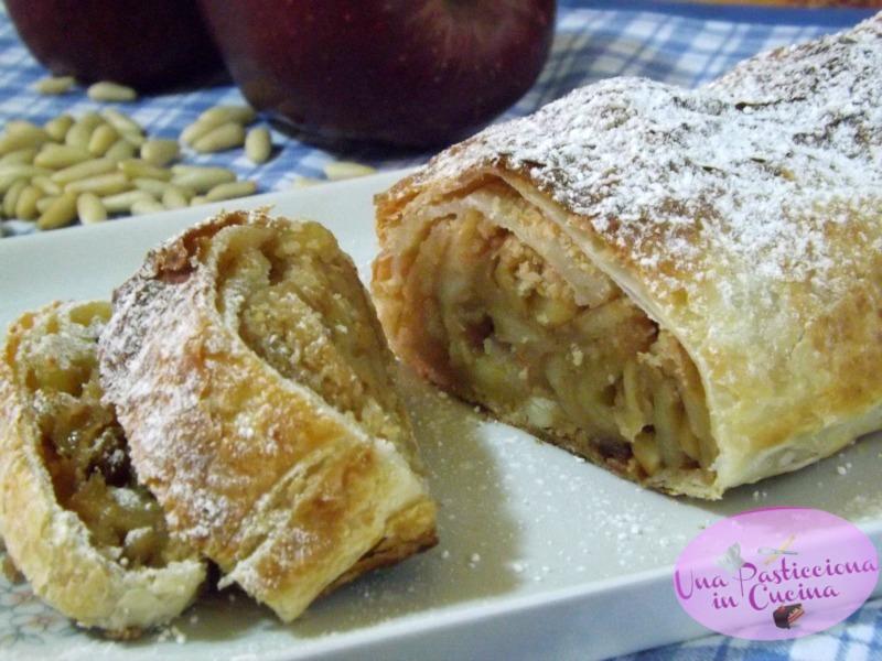 Strudel di mele semplice e veloce giallozafferano for Cucina veloce e semplice