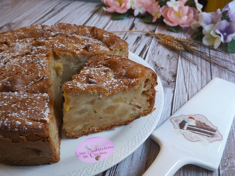 torta di mele in 5 minuti senza burro e latte