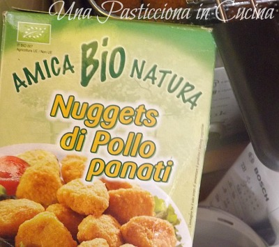nuggets di pollo in agrodolce