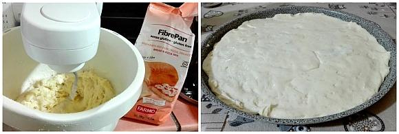 Focaccia di Patate Soffice senza Glutine - con Pomodorini Olive e Origano