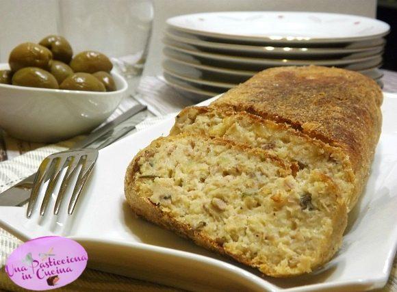 Polpettone di Patate, Tonno e Olive