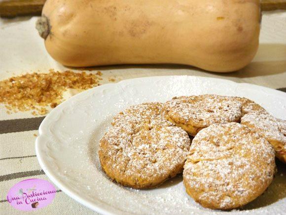 Biscotti di Zucca e Mele Cotogne