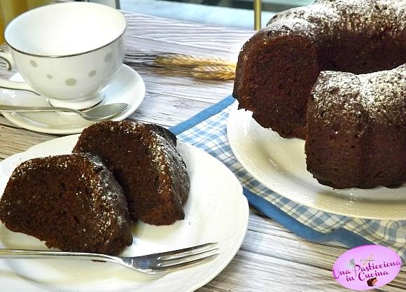 Ciambella al Cioccolato senza Burro in 5 Minuti