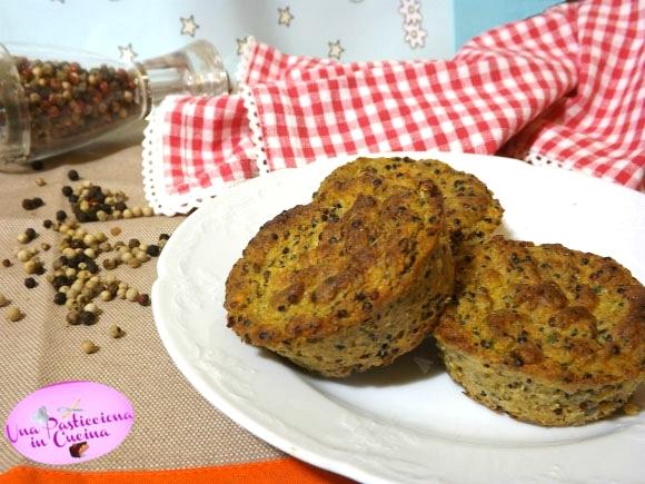 Muffin Salati alle Verdure e Tonno