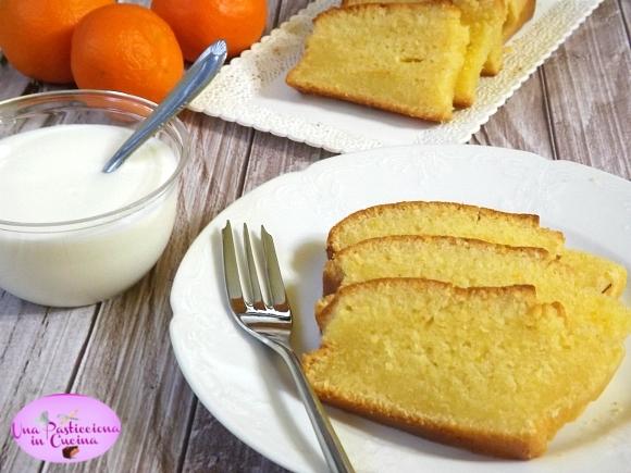 plumcake alle clementine e yogurt