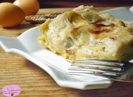 Lasagne ai Carciofi e Ricotta