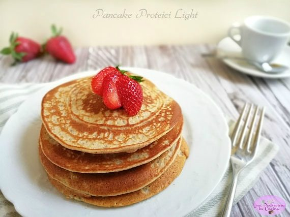 Pancake Proteici Light – senza Proteine in Polvere