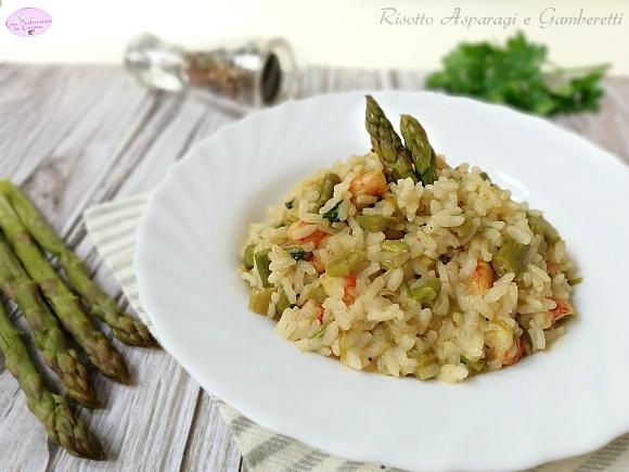 risotto asparagi e gamberetti