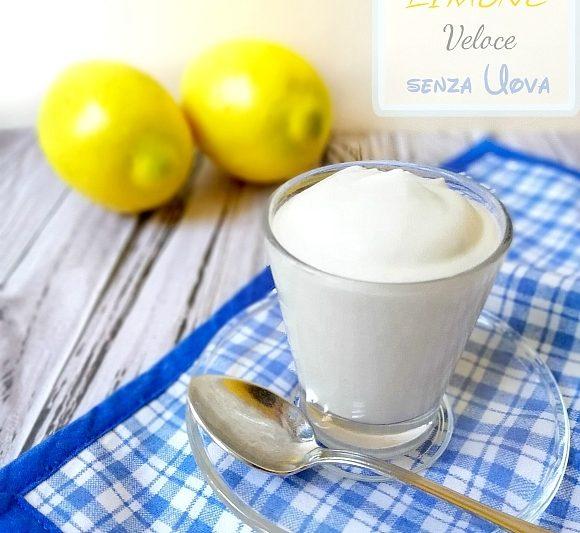 Crema al Limone Fredda senza Uova – Veloce in 5 Minuti