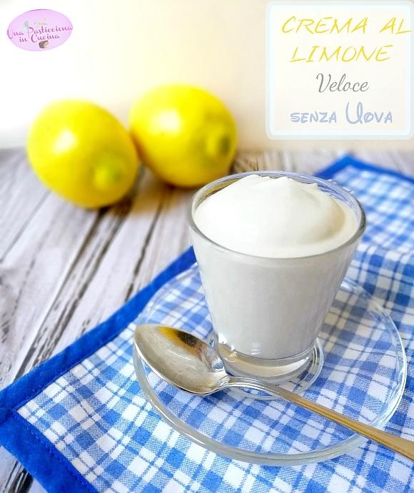 crema al limone veloce senza uova