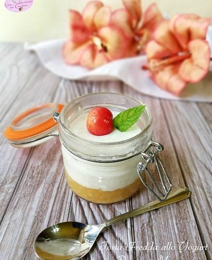 Torta Fredda allo Yogurt senza Panna – Monoporzione