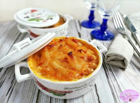 Pasta al Forno con Zucca e Salsiccia
