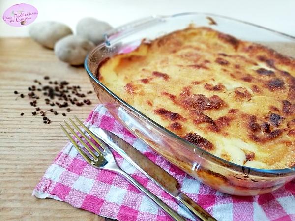 Sformato di Patate con Prosciutto e Mozzarella