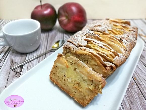 plumcake alle mele senza burro