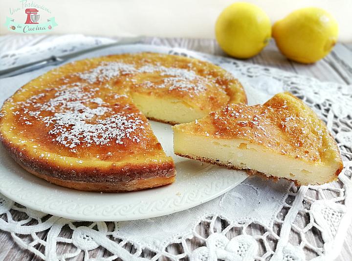 Torta Ricotta e Limone senza Farina