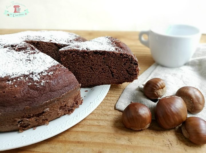 Torta di Castagne e Cioccolato senza Burro