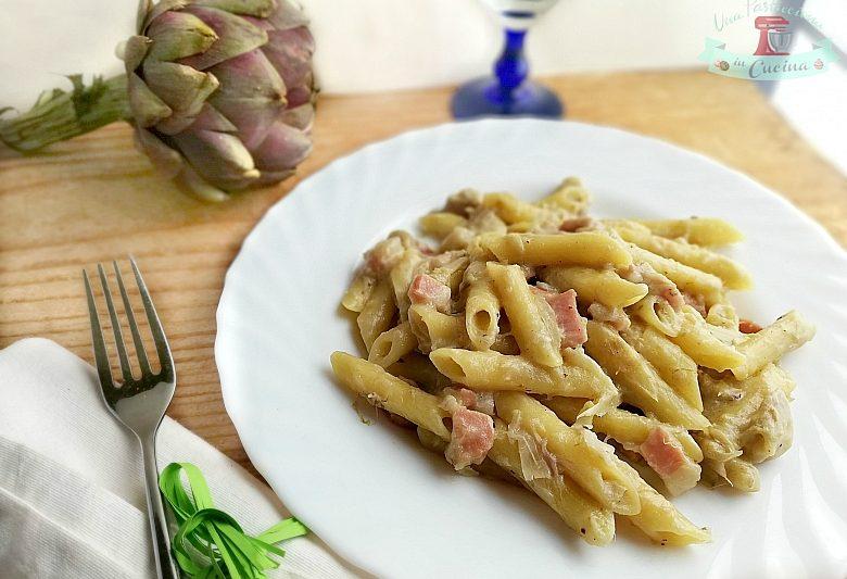 Pasta Carciofi e Speck