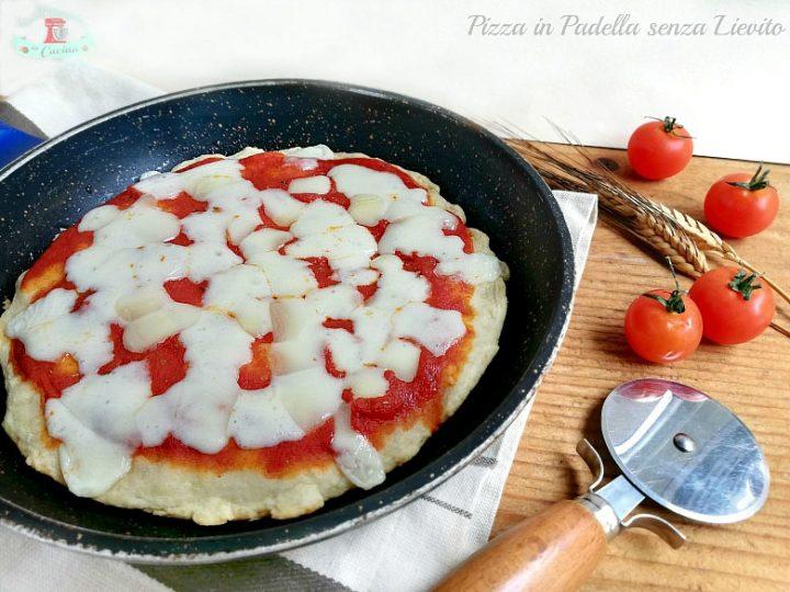 Pizza in Padella senza Lievito