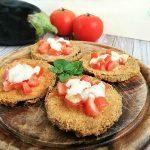 Cotolette di Melanzane con Pomodori e Mozzarella