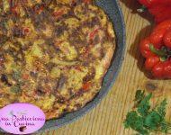 Frittata di Zucchine e Peperoni Ricetta