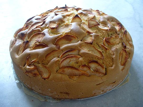 Torta di mele senza glutine per celiaci