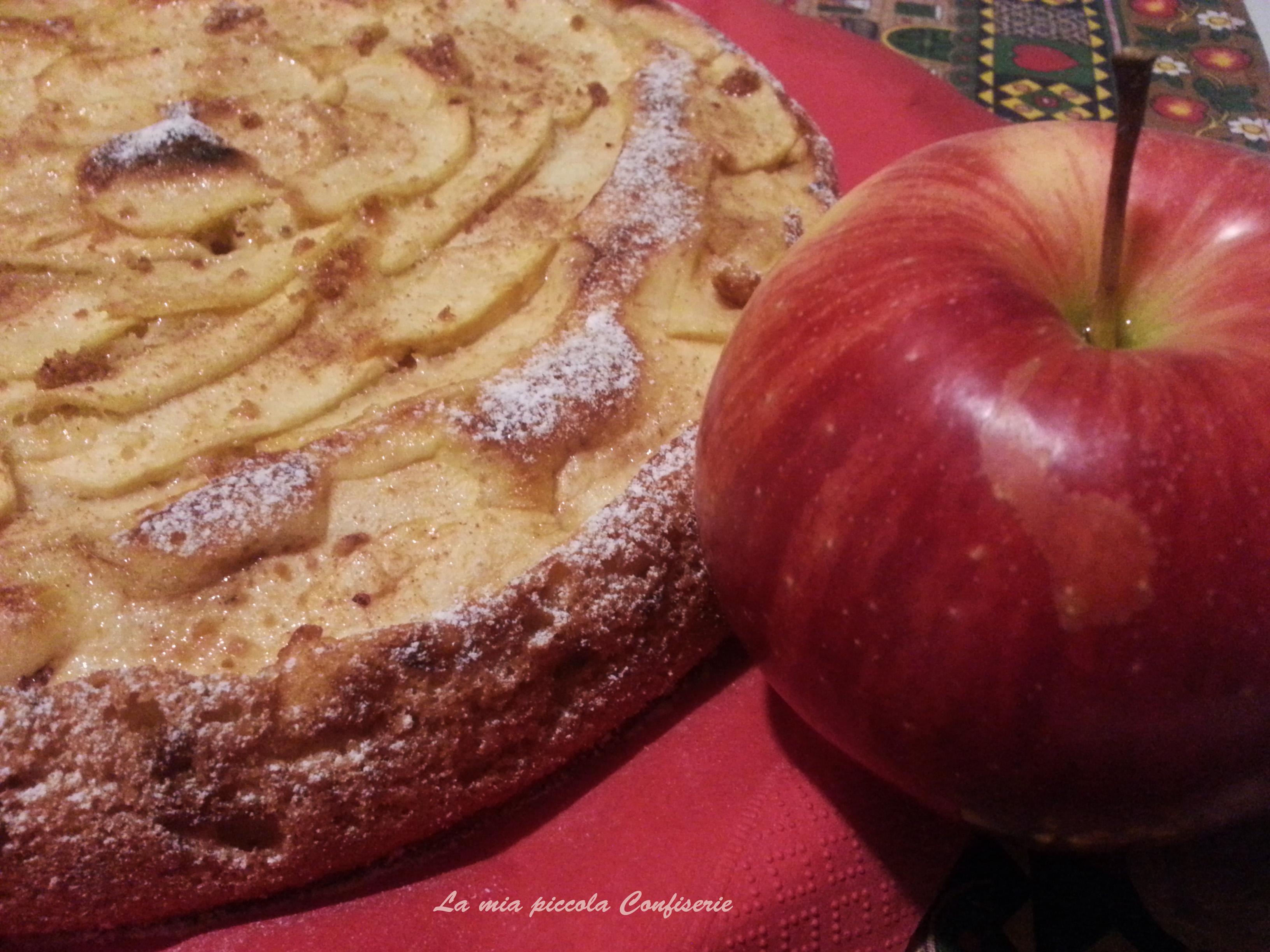 Sharlotka, torta di mele russa