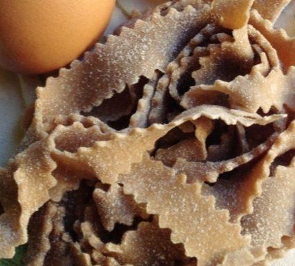 Reginette di farina di castagne
