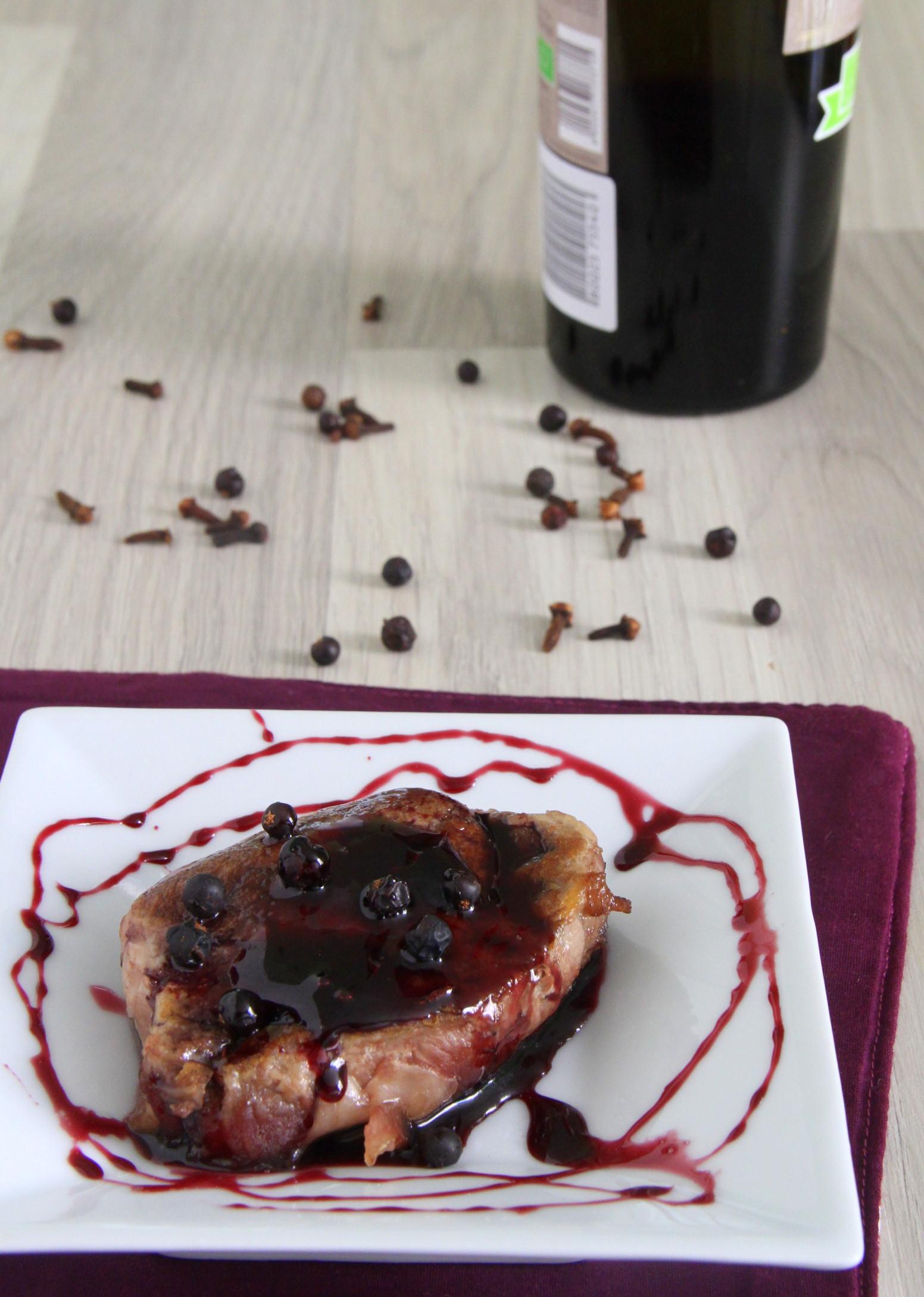 Filetto di maiale al vino cotto