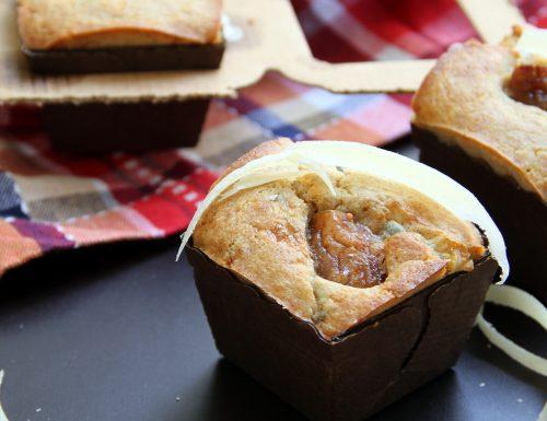 Muffin salati al gorgonzola e fichi secchi