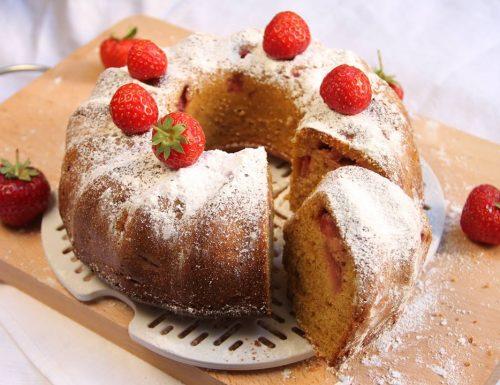Sponge cake fragola e limone