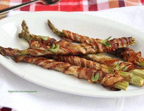 Asparagi e pancetta al forno