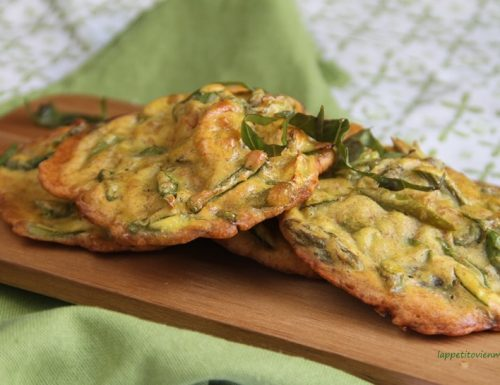 Frittelle saporite agli asparagi