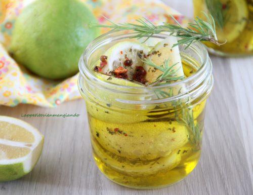 Conserva di limoni sott'olio