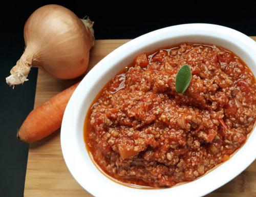 Ragù di carne e pomodoro