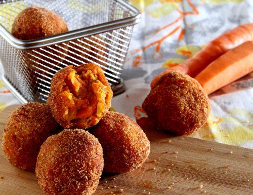 Polpette di carote e pecorino