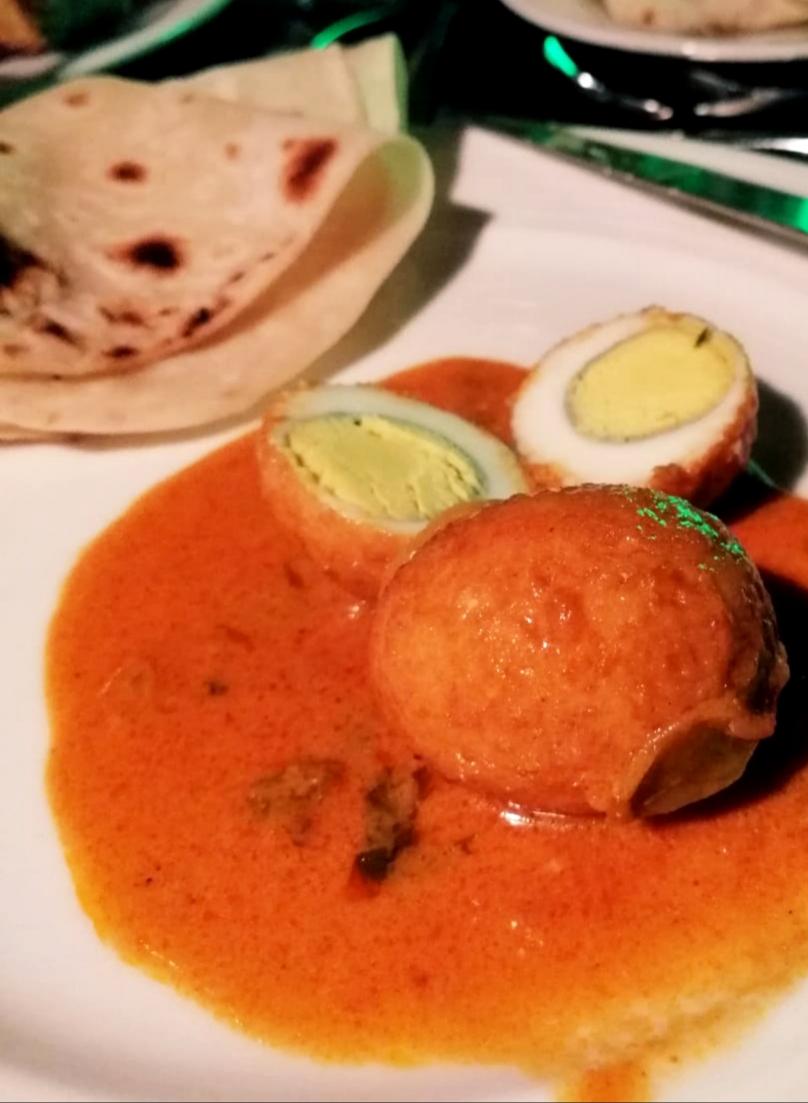 Uova sode al curry Maldive