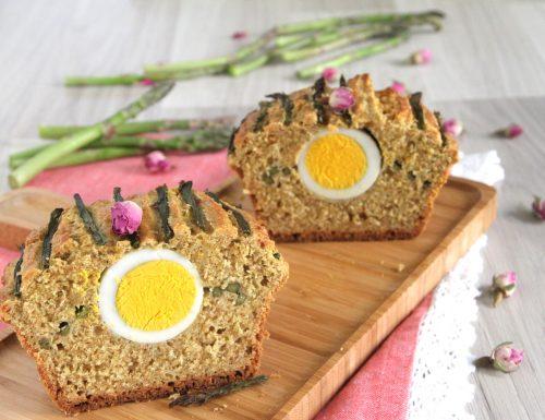Plumcake integrale uova e asparagi
