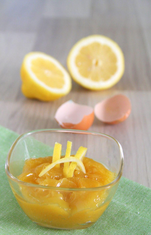 Lemon curd da conservare sotto vetro