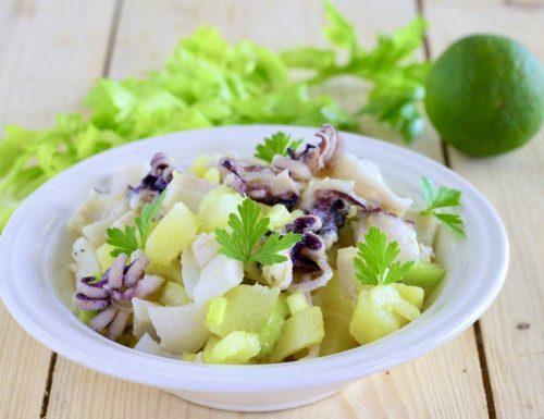 Seppioline patate sedano e cipolline