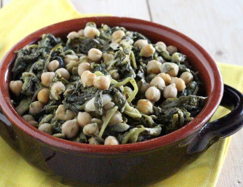 Spinaci ceci e aceto (Spagna)