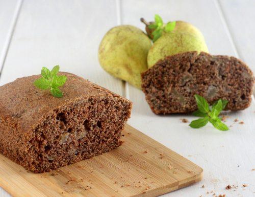 Plumcake grano saraceno e pere