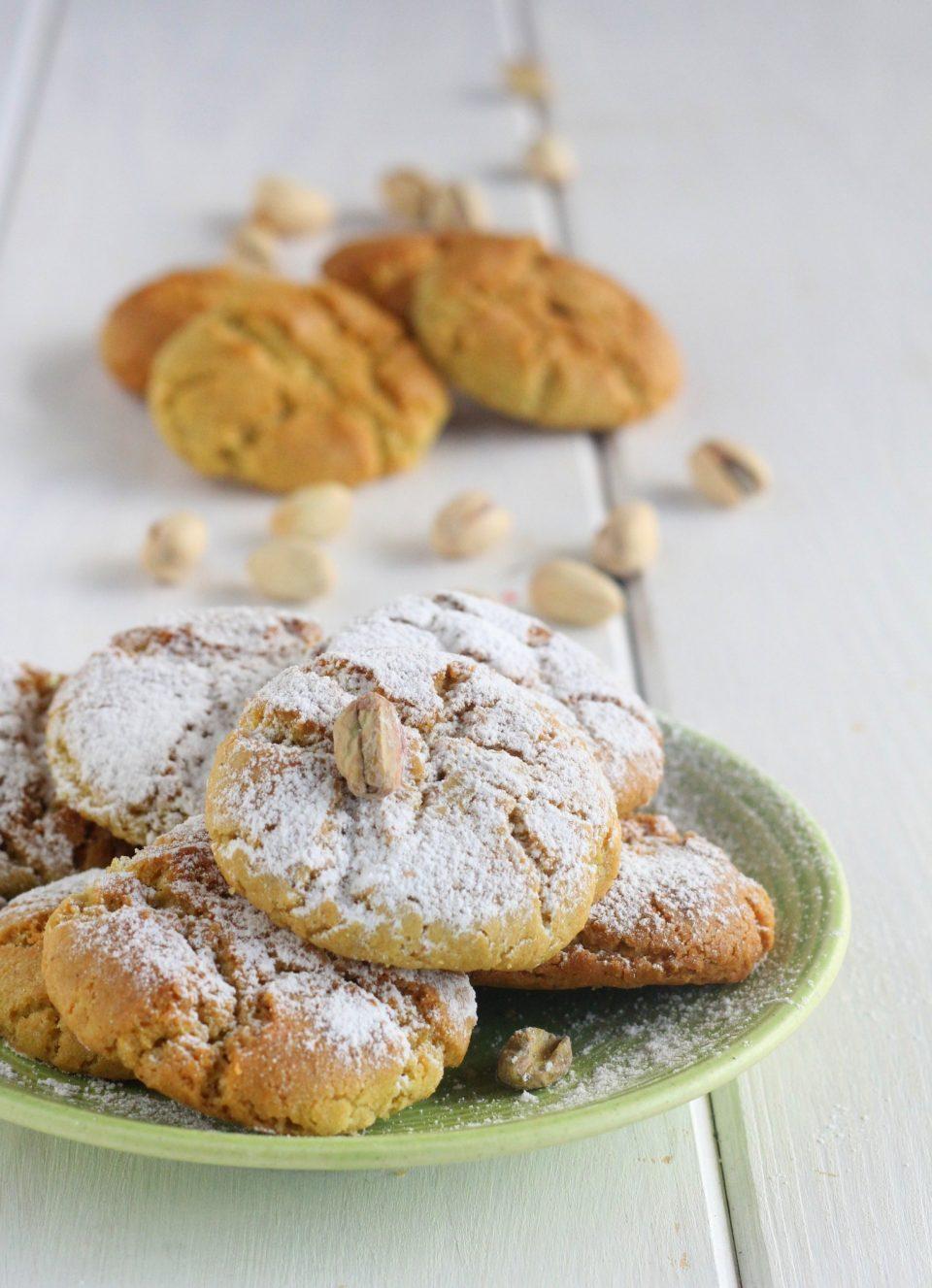 Biscottini fragranti al pistacchio