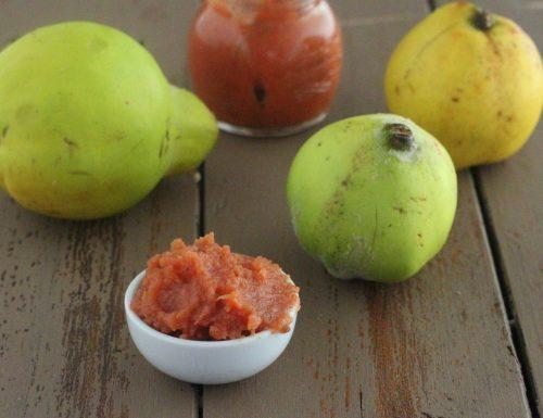 Confettura di pere e mele cotogne