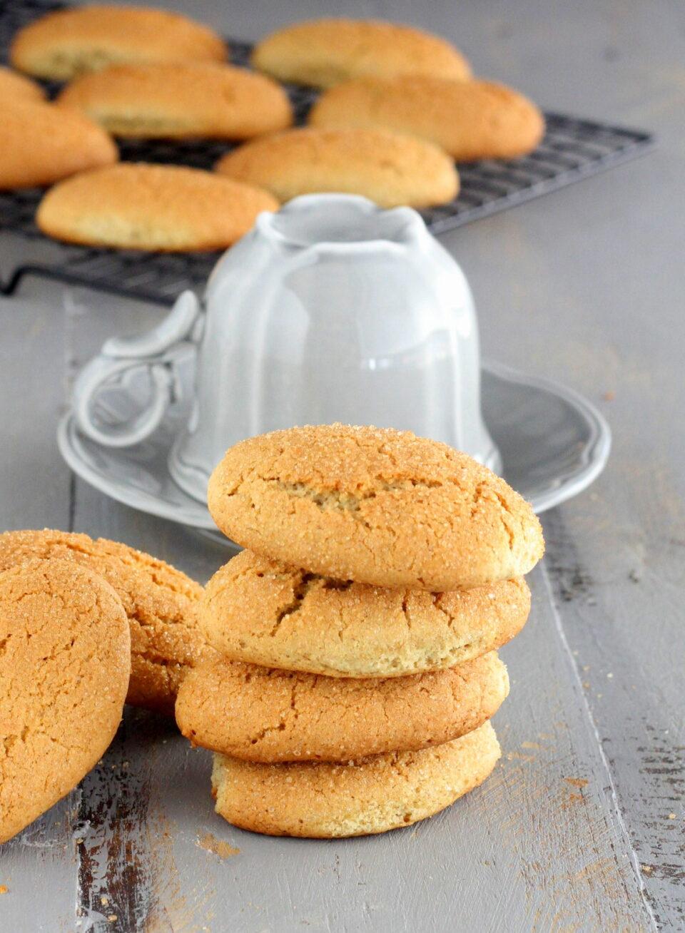 Biscotti al latte per la prima colazione