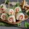 Rotolini di pan carré con salmone