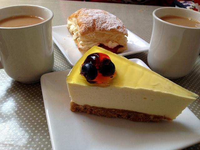 Cheesecake di ricotta e mascarpone