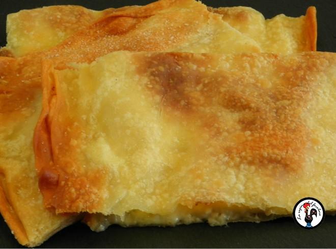 Pasta matta e focaccia al formaggio