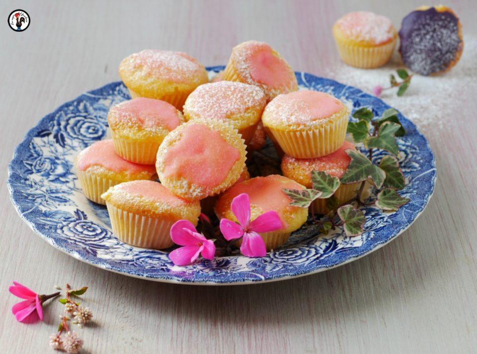 Mini tortine al profumo di rose