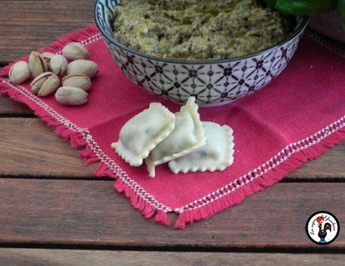 Pesto di melanzane e pistacchio